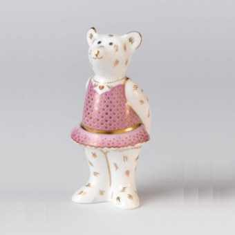 Royal Crown Derby, коллекция мишек, Ballerina Bear