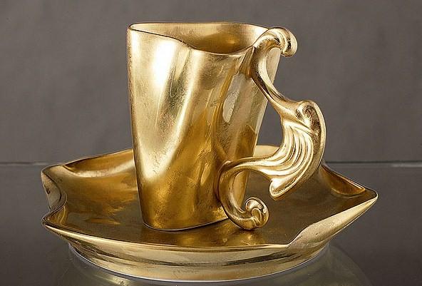 чайная пара из коллекции в честь Дали, Rudolf K?mpf