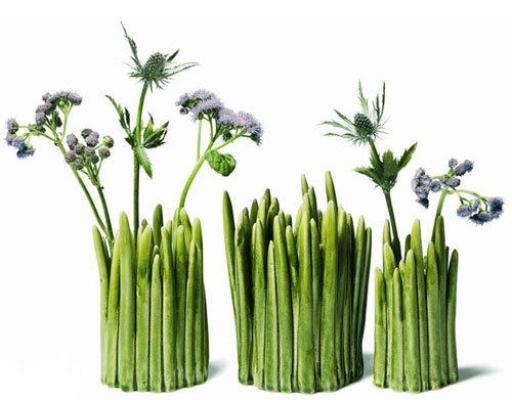 дизайнерская ваза Grass, студия Normann Copenhagen
