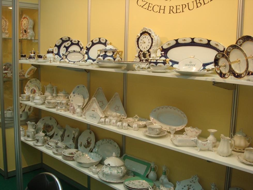 "чешская фарфоровая мануфактура Leander, выставка ""Подарки"""