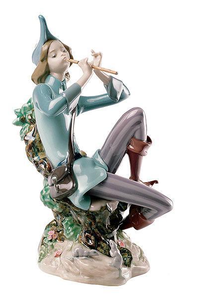"статуэтка ""Флейтист"", Lladro"