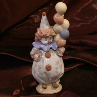 """статуэтка """"Самый маленький клоун"""", Lladro"""