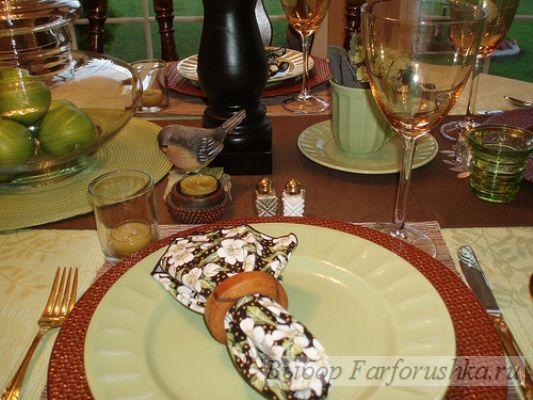 Чайная церемония - сервировка стола