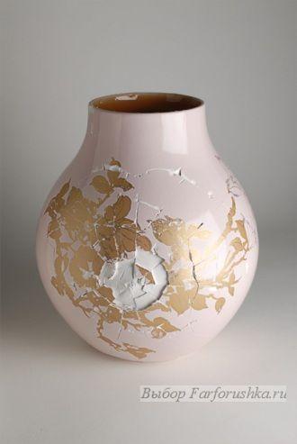 фарфоровые вазы которые не бьются, изобретение голландских дизайнеров Tjep