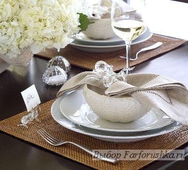 Сервировка праздничного стола - необычные идеи, яркие детали, фото