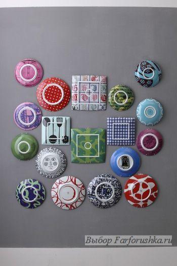 """коллекция """"metroquadro"""", Richard Ginori, дизайнер Паола Навоне, фарфоровые тарелки"""