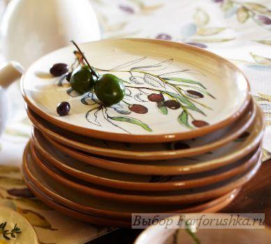 сервировка стола в стиле прованс, посуда в стиле прованс