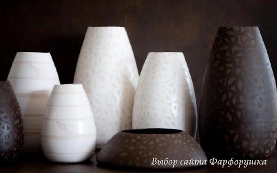 дизайнер Паола Паронетто (Paola Paronetto), авторская керамика и фарфор