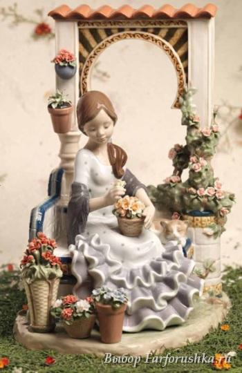 скульптура Весна в Андалусии, Lladro