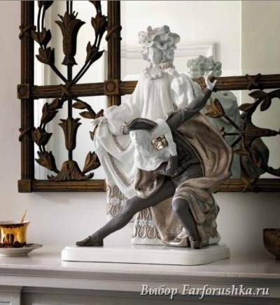 "скульптура ""Карнавал в Венеции"" (""Re-Reco""), Lladro"