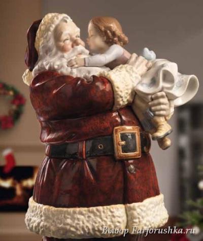 "скульптура ""Санта, я хорошо себя вела!""лимитированная серия, Llladro"
