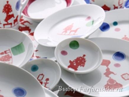 фарфоровые тарелки Richard Ginori, Паола Навоне