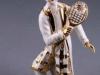 клоун с ракеткой, фарфор, кристаллы сваровски, Фабрика Витторио Сабадин