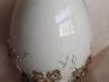 Яйцо Бабочки, статуэтка, русский столовый фарфор, авторские мастерские