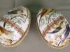 шкатулки-яйца, деколь, латунь, фарфор, Англия, 20век