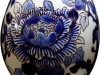 фарфоровое яйцо, Синие пионы, Gien