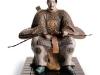 """Японский воин1"", 2008 год, материал грес"