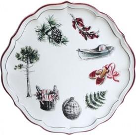 Тарелка из коллекции Voyage en France, Gien