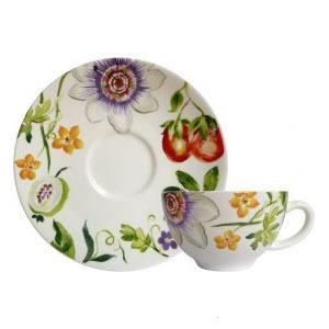Чайная пара из новой коллекции Passiflore от Gien,