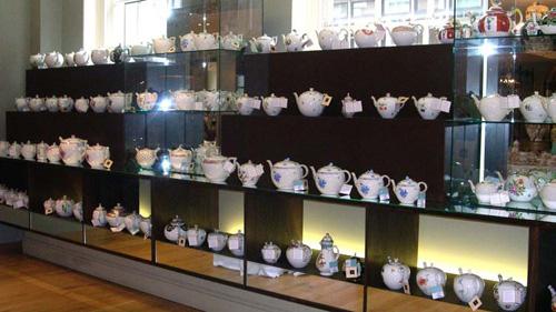 выставка фарфоровых чайников