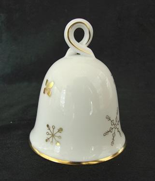 фарфоровый колокольчик Herend из новогодней коллекции