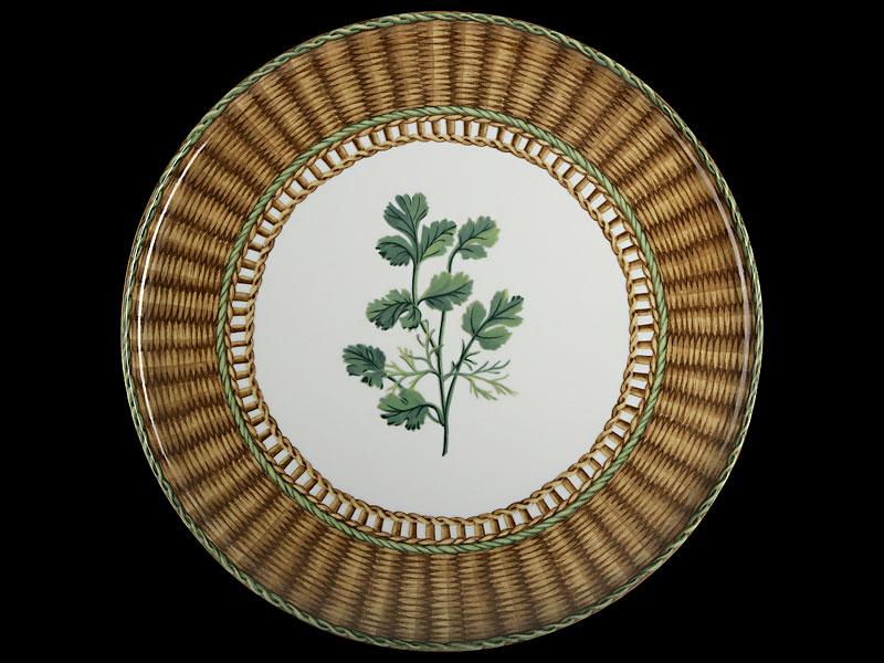 """тарелка из коллекции """"Травы Прованса"""", Laure Japy"""
