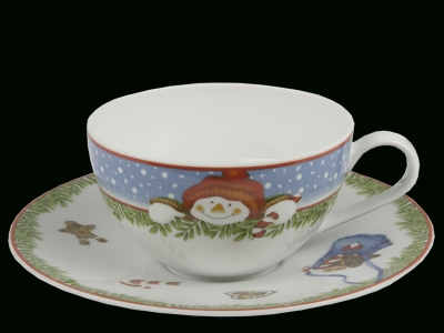 фарфоровая чайная пара, Hutschenreuter