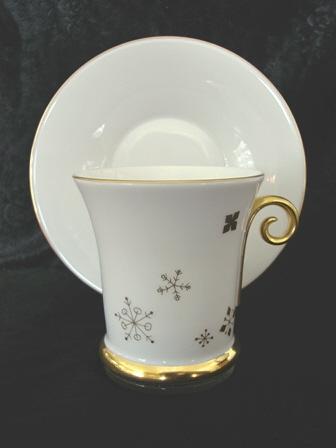 фарфоровая чайная пара, Herend, новогодняя коллекция