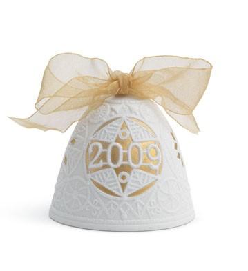фарфоровый новогодний колокольчик Lladro