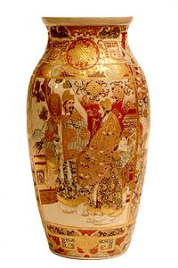 ваза из китайского фарфора