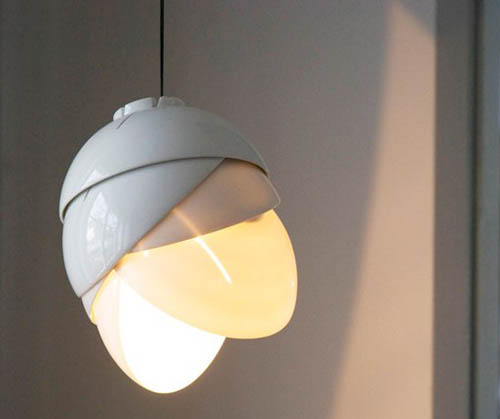 оригинальная лампа из фарфора, Laura Pregger