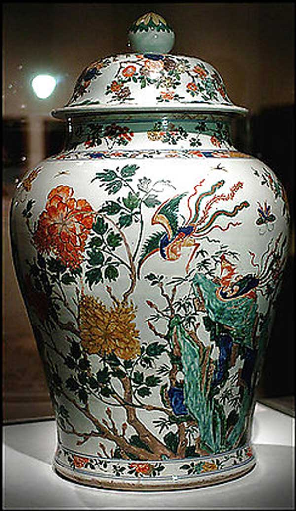 фарфоровая ваза, китайский фарфор