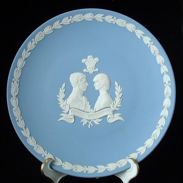 Royal Wedding Plate, Charles Diana, Wedgwood, Jasper