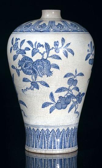 китайская фарфоровая ваза