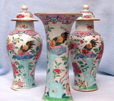 китайские вазы из фарфора