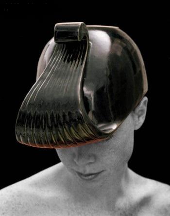 керамическая дизайнерская ваза