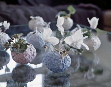 маленькие фарфоровые вазочки Royal Copenhagen