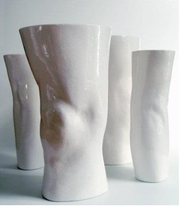 оригинальные вазы из фарфора Mixko Alexander