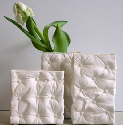 оригинальные вазы из фарфора Sarah Grove