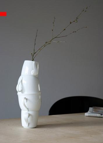 оригинальные вазы из фарфора, Laura Pregger