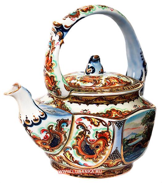 оригинальный чайник, фарфоровый чайник