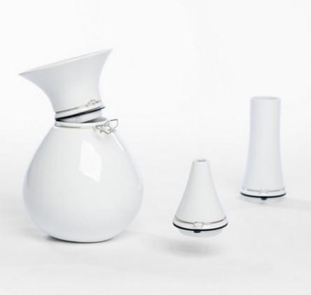 оригинальные вазы из фарфора, ваза FlexVaas