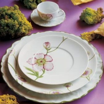 фарфоровые тарелки Medard De Noblat, французский фарфор