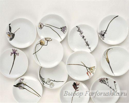итальянский фарфор, фарфоровые столовые и декоративные тарелки