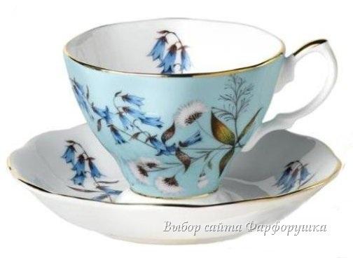 фарфоровые чайные чашки, цветочная роспись, белый твердый фарфор, английский фарфор