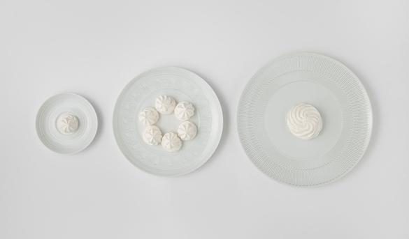 столовый фарфор, коллекция «Ornament», дизайнер Сэм Бэрон (Sam Baron)