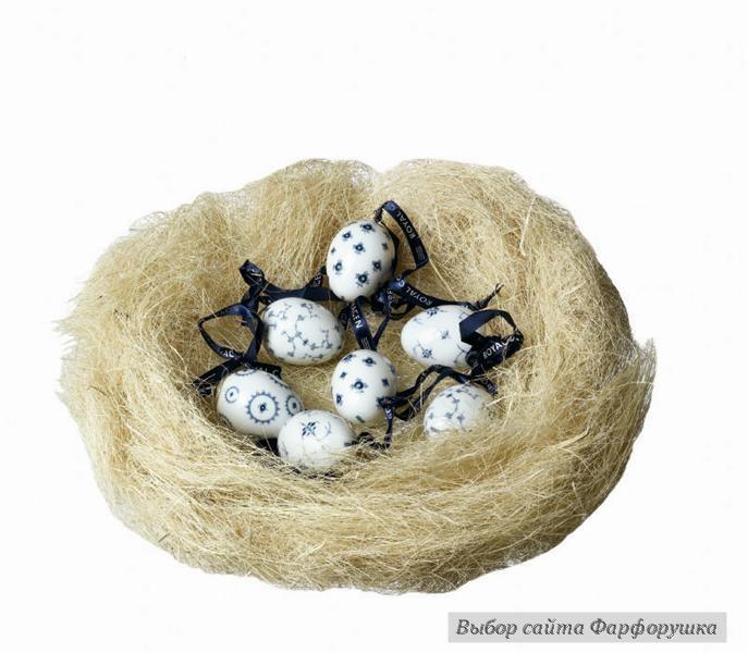 фарфоровые пасхальные яйца, пасхальная роспись, пасхальный фарфор