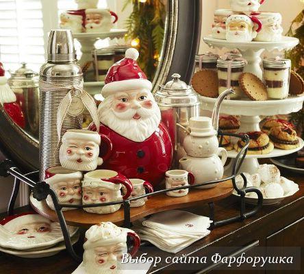 новогодняя сервировка стола, сервировка новогоднего стола, праздничная сервировка