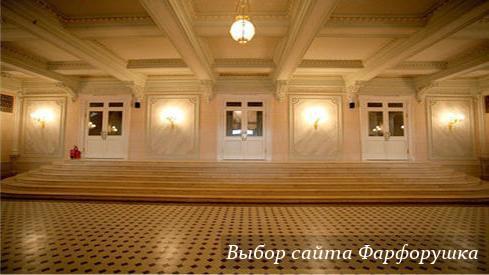 Villeroy&Boch и Большой театр - лимитированные фарфоровые тарелки, фарфоровая плитка