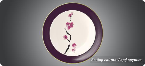 """коллекция """"Цветы вишни"""", Dibbern, костяной фарфор"""
